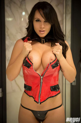 Bryci Latex Corset Boobs